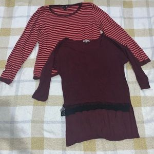 Burgundy Sweater Bundle !